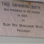 St Edmunds College refurb Pic 002 - Dedication plaque 1895