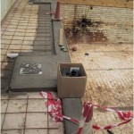 St Edmunds College refurb Pic 010 - During refurb - new skimmers installed