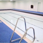 St Edmunds College refurb Pic 016 - During refurb - new tiles and pool filled