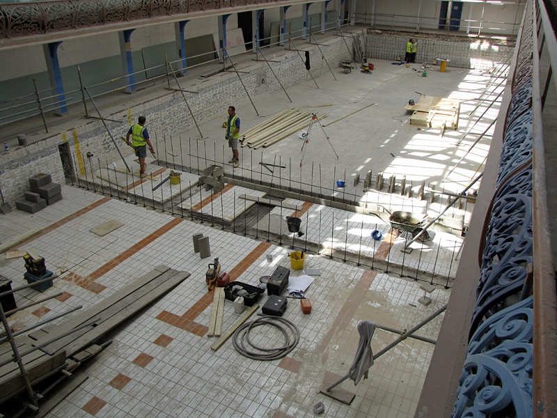 Refurbishment of camberwell leisure centre hydrospec - Capital tower fitness first swimming pool ...
