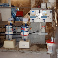 New filtration plant installed